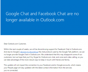 Outlook.com Email Notification