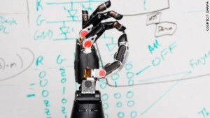 "Prosthetic hand now able to ""tell"" brain what it is touching"